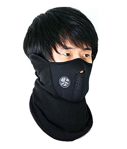Neoprene Half Face Bike Riding Mask (Black) low price