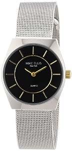 Mike Ellis New York Damen-Armbanduhr XS Analog Quarz Edelstahl L1126ASM/2
