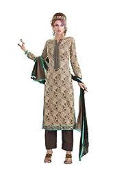 Om Creation Multicolor Embroidered cotton Salwar Suit HS8