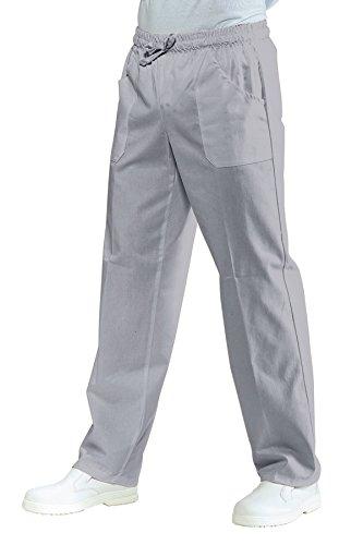 Pantalone sanitario grigio con elastico Isacco XL