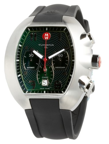 Michele Men's Turbina XL Automatic Watch #MWW10B000004 - Buy Michele Men's Turbina XL Automatic Watch #MWW10B000004 - Purchase Michele Men's Turbina XL Automatic Watch #MWW10B000004 (Michele, Jewelry, Categories, Watches, Men's Watches, By Movement, Swiss Quartz)