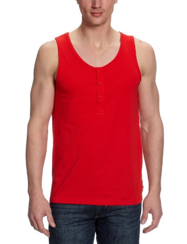 Fruit Of The Loom Virginia Men's Vest Red Medium