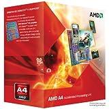 AMD A4-3300 APU with AMD Radeon 6410 HD Graphics 2.5GHz Socket FM1 65W Dual-Core Processor - Retail AD3300OJHXBOX