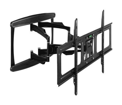 ATDEC TH-3070-UFL Telehook Ultra Slim Articulating Arm Wall for 30-Inch to 70-Inch TV Mount, Black
