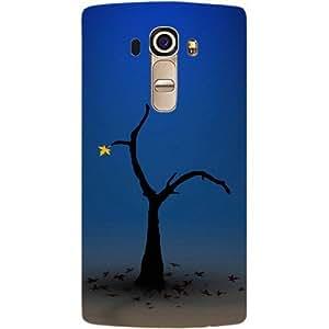 Casotec Tree Design Hard Back Case Cover for LG G4