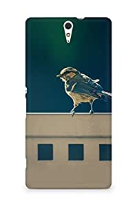 Amez designer printed 3d premium high quality back case cover for Sony Xperia C5 (Bird 4)