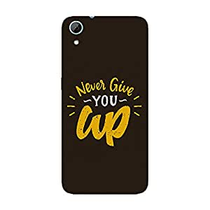 Garmor Designer Silicone Back Cover For HTC Desire 628