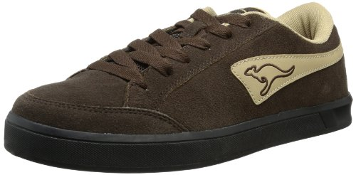 KangaROOS Mens Bert II Trainers Brown Braun (dark brown/sand) Size: 8 (42 EU)