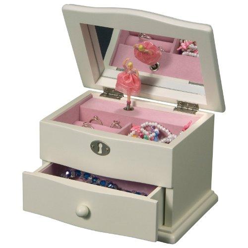 Girls Dancing Ballerina Jewelry Box With Music Box Picture