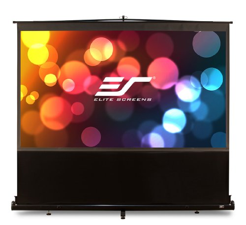 "Elite Screens F100Nwv Ezcinema Series Portable Projection Screen (100"" Diag. 4:3 60""Hx80""W)"