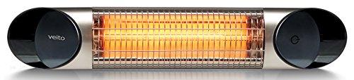 Veito Blade Mini Wickeltischstrahler IP55 - 600W bis 1200 W