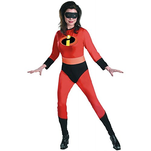 [GSG Mrs Incredible Costume Adult The Incredibles Hero Halloween Fancy Dress] (The Incredibles Mrs Incredible Costumes)