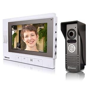 Swann Sw347-Dv7-7-Inch LCD Color Door Intercom with DB-815 Camera