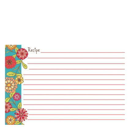 Gina B. Designs Recipe Cards - Delia by Gina B. Designs