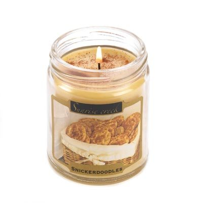 Snickerdooles Cookie Scented Candle Jar Home Fragrance