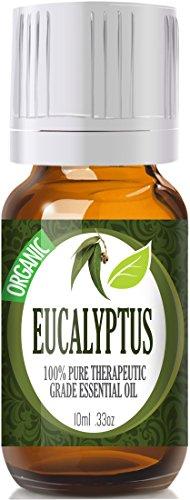 Eucalyptus (Organic) 100% Pure, Best Therapeutic Grade Essential Oil - 10Ml