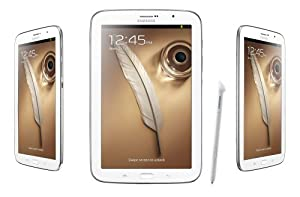 "Samsung Galaxy Note White 8"" Tablet (Wi-Fi Only), Model: GT-N5110ZWAXAC"