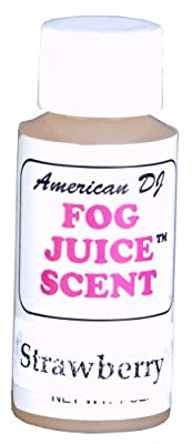 American Dj F-Scent Strawberry Scent For Water Based Fog Juice from American DJ Group of Companies