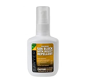 Sawyer Products Premium SPF 30 Sun Block with DEET Free Insect Repellent, 3-Ounce (Discontinued by Manufacturer)