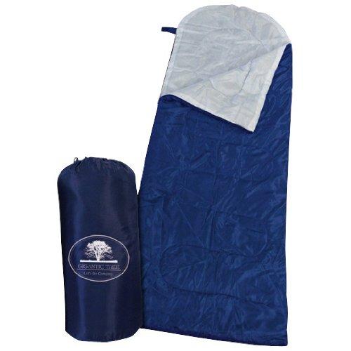 キャンプ、アウトドア、スポーツ観戦・災害時にも『1人用寝袋 ネイビー』