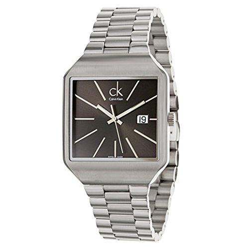 Calvin Klein classic reloj de acero inoxidable de los hombres K3L31161 nuevo