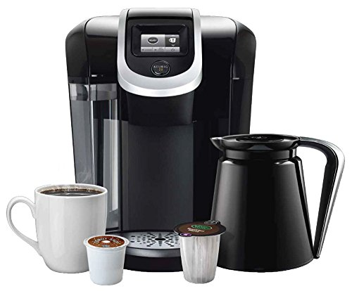 stay or go coffee maker with thermal carafe and
