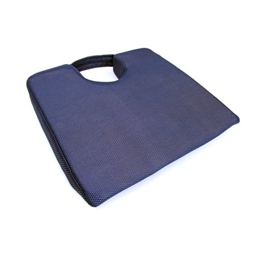 66Fit Coccyx Cushion Elite - Blue, 38 X 39 X 5/3 cm