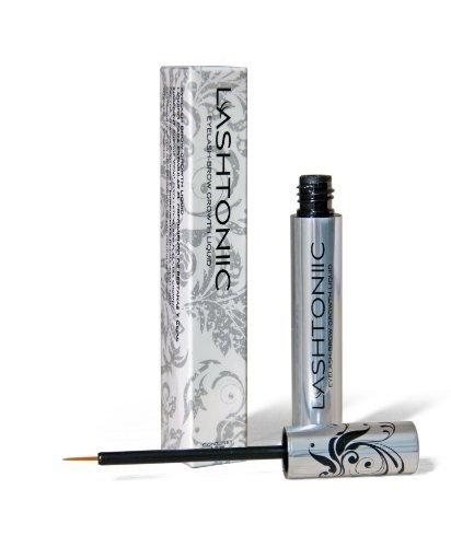 Lashtonic Lashtoniic Eyelash Eye Lash Eyebrow Brow Enhancer Enhancing Lengthening Serum For Long, Thick, Soft, Darker, Natural Eyelashes Lashes 4.8ml