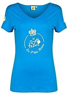 Le Tour de France-T-Shirt Femme Tour de France La Petite Reine Bleu Foncé 2014-TOUR DE FRANCEXL