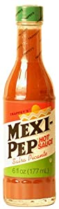 Trappey's Mexi-pep Hot Sauce, 6-Ounce Bottle (Pack of 4)