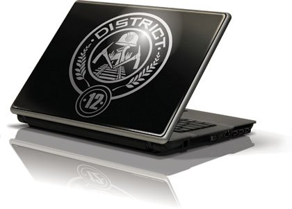 Skinit The Hunger Games -District 12 Vinyl Laptop Skin for Generic 12in Laptop (10.6in X 8.3in)