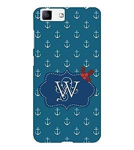 EPICCASE Lots of Anchor Mobile Back Case Cover For Vivo X5 (Designer Case)