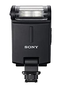 Sony HVLF20M MI Shoe External Flash for Alpha SLT/NEX (Black)