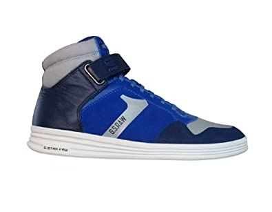 G-Star Raw Futura Outland Strap Suede Mens Trainers / Boots - Blue - SIZE UK 6