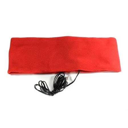 Sleeping Headband W/ Built-In Headphones! - Red
