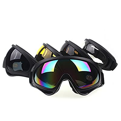Genenic Outdoor Ski Snowboard Dustproof Sunglasses Eyewear Adjustable UV Protective Portable Motorcycle Goggles