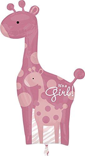 "Anagram International Safari Baby Girl Giraffe, 42"", Multicolor"