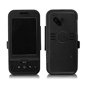 BoxWave G1 AluArmor Jacket - Rugged, Heavy Duty Anodized Aluminum Metal Case for Slim and Durable Protection - G1 Cases and Covers (Black)