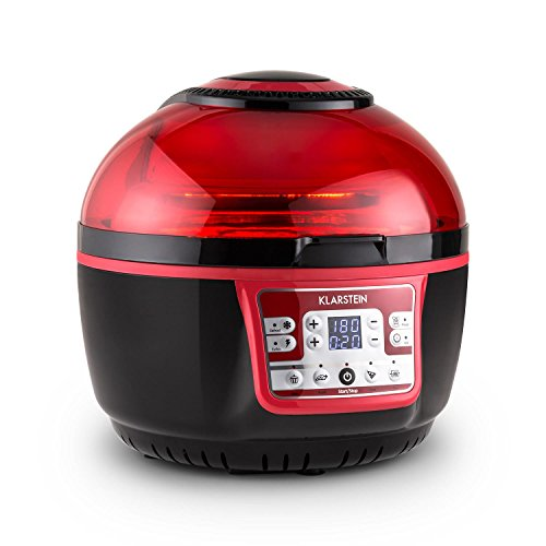 Klarstein VitAir Turbo Hot Air Fryer Deep Fryer 1400W 9L