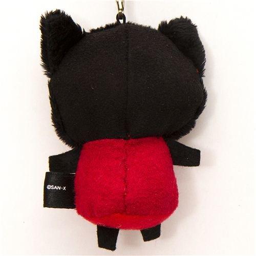 Imagen 2 de Colgante Gato Negro de Peluche de Sentimental Circus