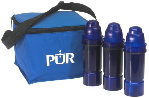 Pur Water Filter 2 Stage Water Pitcher Replacement Filter 3-Pack CRF-950Z