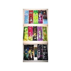 2010 Tanning Lotion Packets by Australian Gold Designer Skin Swedish Beauty California Tan Luminary Tanning Lotion Samples Packettes Masquerade Aphrodisiac Betrayal Hero Worship Take Olive Me Pear Fecto Hot Green Tease Charisma Dark Escape Vogue Tanning Lotion Packets Mood Indigo Risque Ritual Wicked Lovely Sinfully Black Tanning Lotion Packet Lot of 15