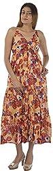 HotShot Women's Cotton V-Neck Dress (Rh020, Large)