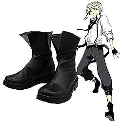 SHINING EASYBUY Anime Atsushi Nakajima Shoes Boot Cosplay Costume