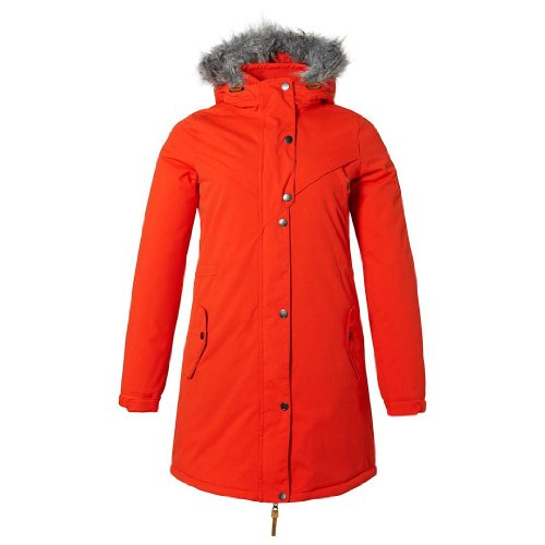 "O'Neill, Giacca Donna ADV, Parka ""Journey"", Rosso (Paprika Red), XS"
