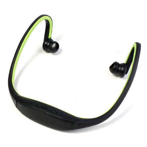 Zps Stereo Sports Bluetooth Headset Earphone Headphone For Iphone Samsung Htc (Green)