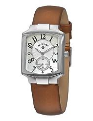 Philip Stein Women's 21-FMOP-IBZ Classic Bronze Silk on Leather Strap Watch