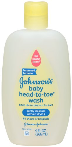 Johnson's Baby Head-to-Toe Wash, 9 Ounce (Pack of 3) 9 Ounce Bath