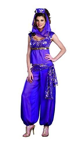 Dreamgirl Women's Ally Kazam Costume, Purple, Large