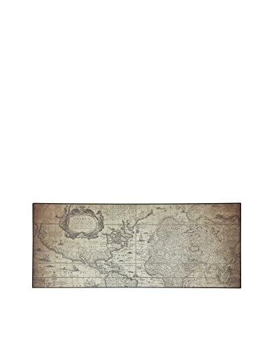 ABC Tappeti Tappeto Vinyl Vn04 Traveler Fango 50 x 120 cm